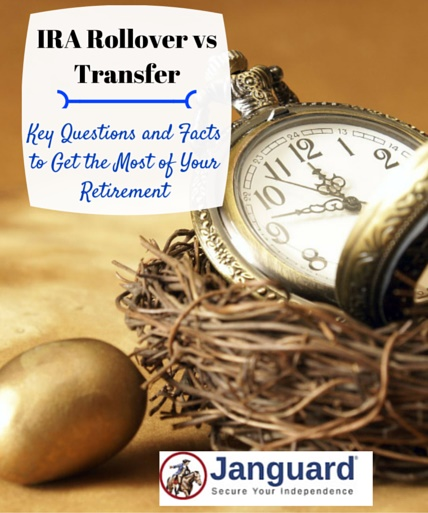 ira rollover vs transfer options