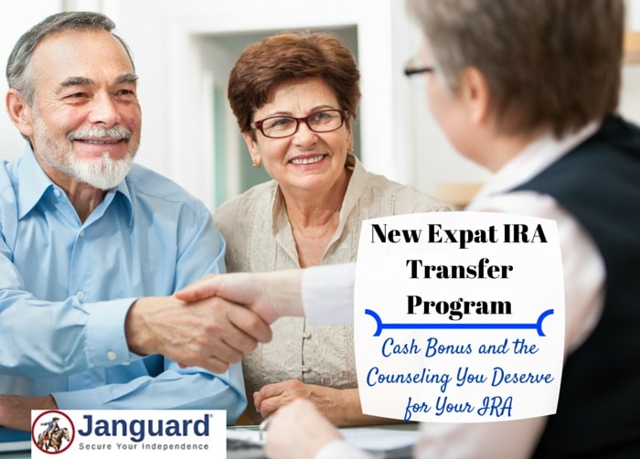 100 IRA transfer program expats