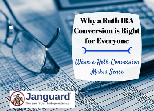 when roth ira conversion makes sense